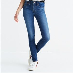 "Madewell 9"" Rise Skinny Jeans"
